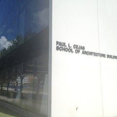 Photo taken at Paul Cejas Architecture Building by Kate P. on 8/9/2012