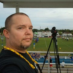 Photo taken at Dixie M Hollins High School by Chuck @ CBoyd Media on 9/9/2011