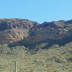 Photo taken at Usery Mountain Regional Park by Kayla B. on 1/28/2012