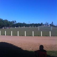 Photo taken at Campo de Futebol - IAENE by Naassom A. on 5/13/2012