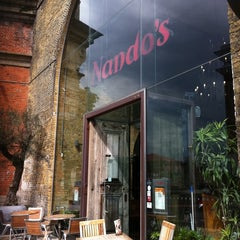 Photo taken at Nando's by Theo M. on 7/19/2011