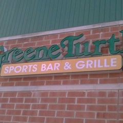 Photo taken at The Greene Turtle by Jake C. on 1/31/2012