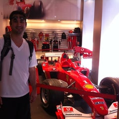 Photo taken at Ferrari Store by Shyawn K. on 9/14/2011