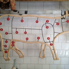 Photo taken at Antica Macelleria Cecchini by Paris P. on 2/28/2012