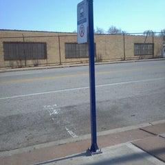 Photo taken at MetroLink - Delmar Loop Station by Leah C. on 3/13/2012