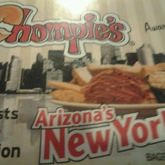 Photo taken at Chompie's Deli by Allen G. on 6/28/2012