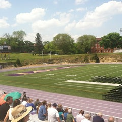 Photo taken at The Rock Bowl @ Loras College by Robin W. on 5/19/2012