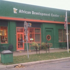 Photo taken at Afro Deli by Darin H. on 10/12/2011