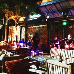 Photo taken at Cafe' De Beach by Pam Tara L. on 6/23/2012