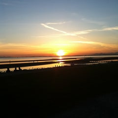 Photo taken at Crescent Beach by Janet C. on 5/14/2012