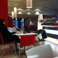 Photo taken at Lavazza Espression by sparky t. on 3/30/2011
