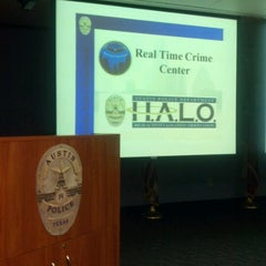 Photo taken at Austin Police Department Headquarters by Melisa R. on 6/28/2012