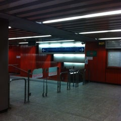 Photo taken at Metro Ursynów by Mario H. on 12/27/2010