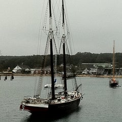 Photo taken at Vineyard Haven Harbor by Emily K. on 9/24/2011