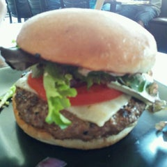 Photo taken at G Burger by Andrew K. on 10/3/2011
