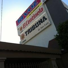 Photo taken at La Voz de la Frontera by Édgar G. on 2/10/2012
