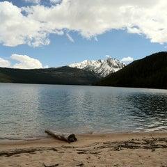 Photo taken at Redfish Lake Lodge by Lordy on 6/3/2011