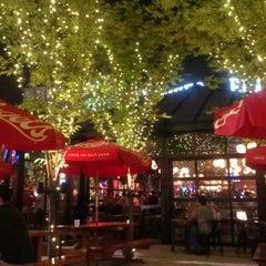 Photo taken at Leinenkugel's Beer Garden by Sunny R. on 8/4/2012