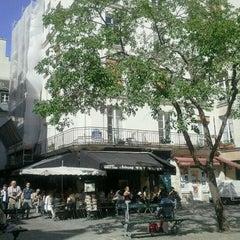 Photo taken at Place du Marché Sainte-Catherine by Deniz Y. on 6/2/2011