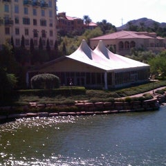 Photo taken at Hilton Lake Las Vegas Resort by Andrew E. on 10/27/2011