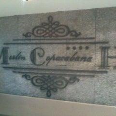 Photo taken at Merlin Copacabana Hotel by Lucas C. on 8/23/2011