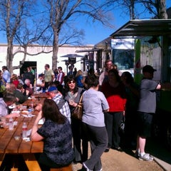 Photo taken at Fort Worth Food Park by Denver L. on 1/20/2012