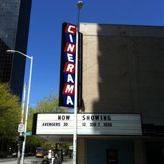 Photo taken at Cinerama by Roy P. on 5/6/2012