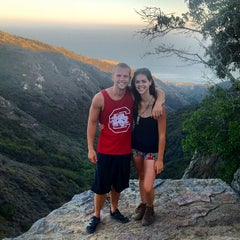 Photo taken at Nicholas Flat Trail, Malibu Canyon by Jessica 💖 S. on 7/16/2012