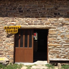 Photo taken at El Ganso Albergue Gabino by Luke M. on 5/24/2012