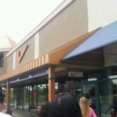 Photo taken at Nike Outlet by Jeremiah V. on 8/19/2012