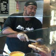 Photo taken at Jim's Steaks by Jeff Z. on 5/22/2011