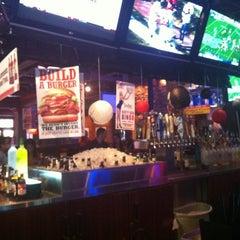 Photo taken at Smokey Bones Bar & Fire Grill by Sarah A. on 10/15/2011