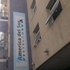 Photo taken at America del Sur Hostel by Nicolás O. on 2/9/2012
