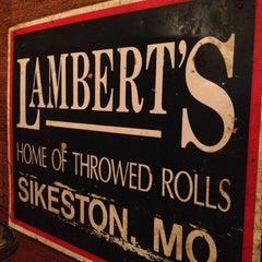 Photo taken at Lambert's Cafe by Derek K. on 5/15/2012