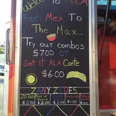 Photo taken at Zoca: Taco + Burrito Truck by Chris Z. on 4/5/2012