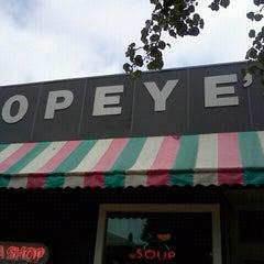 Photo taken at Popeye's Soda Shop by Shellie W. on 9/22/2011