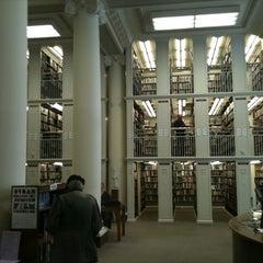 Photo taken at Mechanics' Institute by Kayvon T. on 7/9/2011