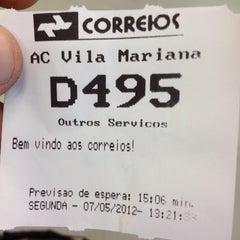 Photo taken at Correios by Johnny Bmx M. on 5/7/2012