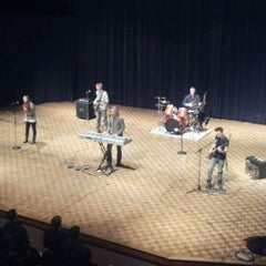 Photo taken at Weasler Auditorium by Dustin T. on 1/20/2012