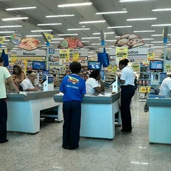 Photo taken at Supermercados Guanabara by Angelica M. on 2/10/2012