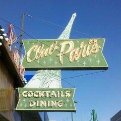 Photo taken at Club Paris by John H. on 4/11/2012