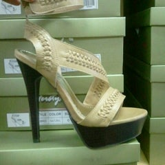 Photo taken at Shoe Land by Nicky H. on 4/10/2012