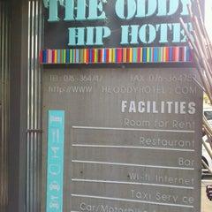 Photo taken at The Oddy Hip Hotel by Akarapol K. on 12/19/2011