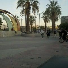 Photo taken at North Hollywood MTA Metro Red Line Bike Lockers by Chispas M. on 1/30/2012