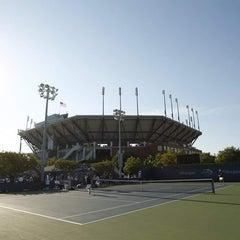 Photo taken at Court 12 - USTA Billie Jean King National Tennis Center by US Open Tennis Championships on 8/28/2011