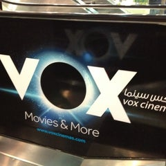 Photo taken at VOX Cinemas by Sheikh Fadi H. on 5/18/2012