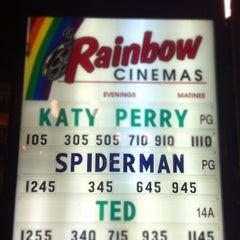 Photo taken at Rainbow Cinemas Market Square by Melanie S. on 7/13/2012