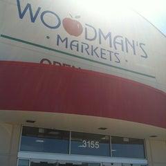 Photo taken at Woodman's Food Market by Sassy C. on 6/25/2012