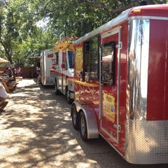 Photo taken at Fort Worth Food Park by Lauren L. on 9/2/2012