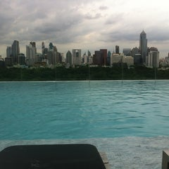 Photo taken at Sofitel So Bangkok by Veerapatr K. on 7/1/2012